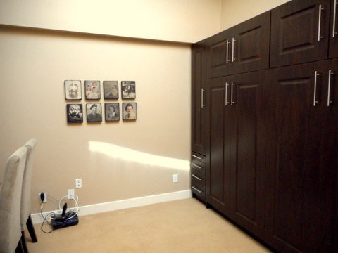 Office with Murphy bed