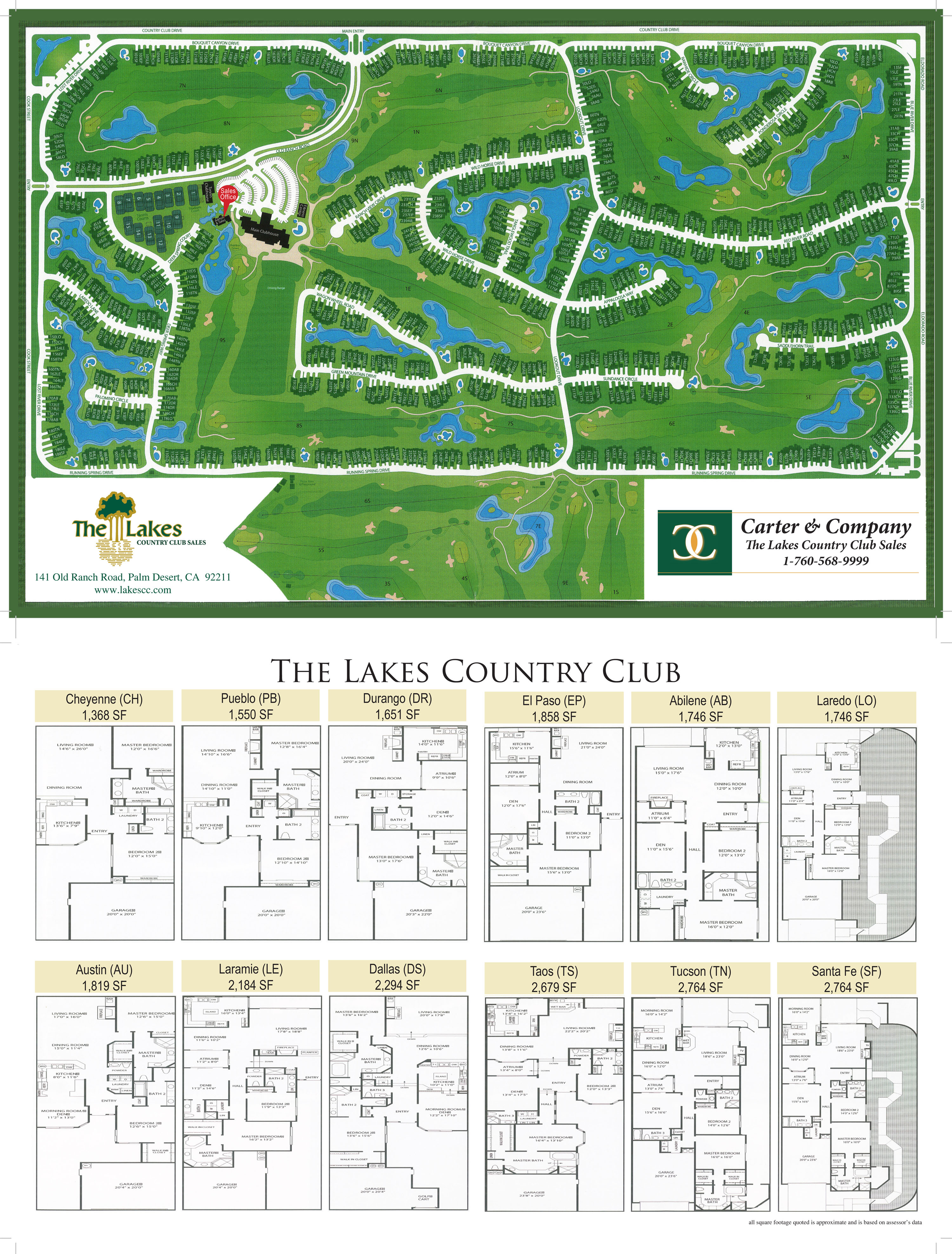 Map Of The Lakes Country Club The Lakes Country Club Homes For Sale